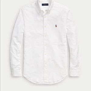 Polo Ralph Lauren Button Down White Oxford